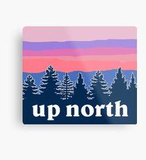 up north Metal Print