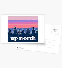 up north Postcards