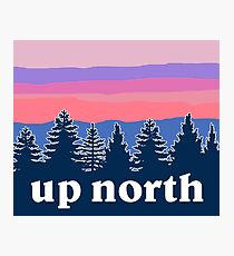 up north Photographic Print