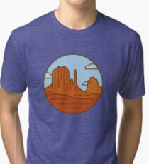 Monument valley Tri-blend T-Shirt