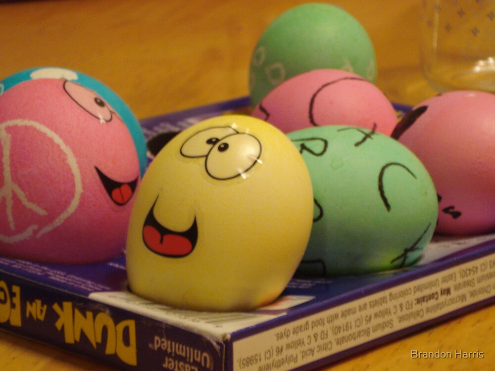 happy egg's by Brandon Harris