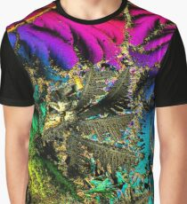 Radioactive Psychedelic Palm Tree Graphic T-Shirt