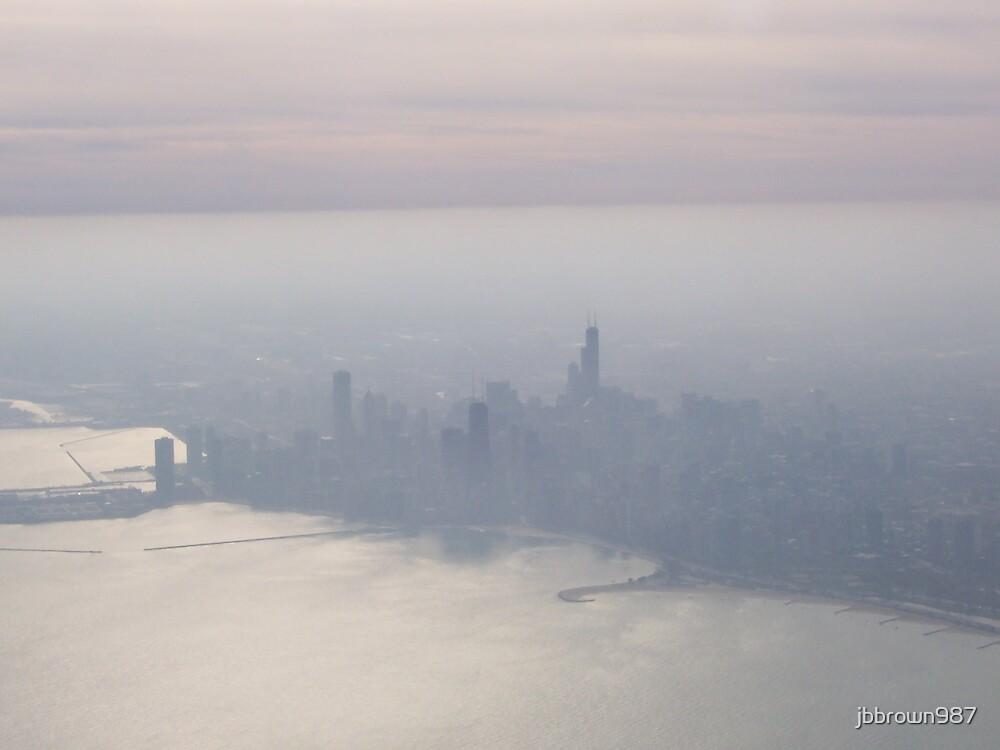 Chicago Shouded in Fog by jbbrown987