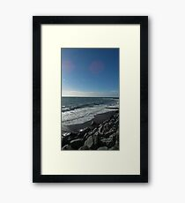 Sunny day in Wales Framed Print