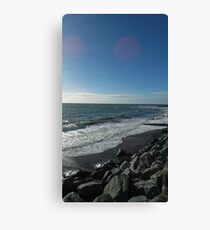 Sunny day in Wales Canvas Print