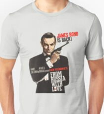 From russia with love James Bond  Unisex T-Shirt