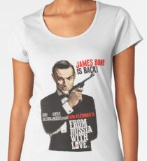 From russia with love James Bond  Women's Premium T-Shirt