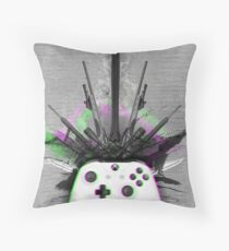 Symphony of XBOX One Throw Pillow