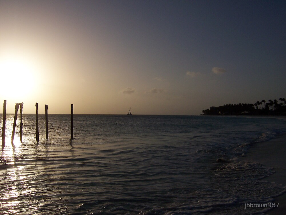Sunset in Aruba by jbbrown987