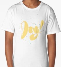 Inky Colorful Joy! Long T-Shirt