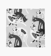4 cats Scarf