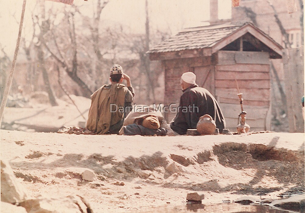 Peacefull Times Kashmir by Damian McGrath