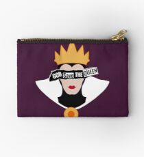 God save the Evil Queen Studio Pouch