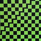 Green squares by Milica Mijačić