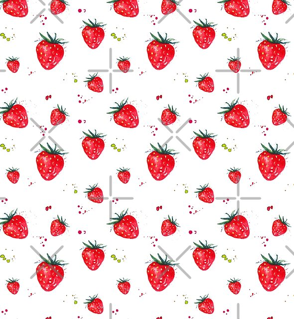 Strawberries  by IconicTee