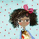 Doll old washed colour Polka Dots by rupydetequila