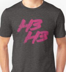 H3H3 Productions | Distressed Logo Shirt Unisex T-Shirt