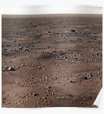 The Surface of Mars (Real) HD Photograph Poster