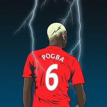 Pogba Lightning Design by theunitedpage