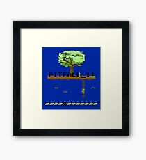 Gaming [C64] - Pitfall 2 Framed Print