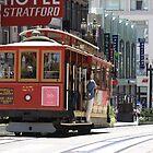 # 25 Cable Car - San Francisco California by Buckwhite