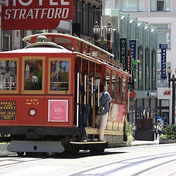 # 25 Cable Car - San Francisco, California, USA by Buckwhite
