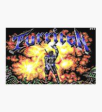 Turrican (C64 Title Screen) Photographic Print