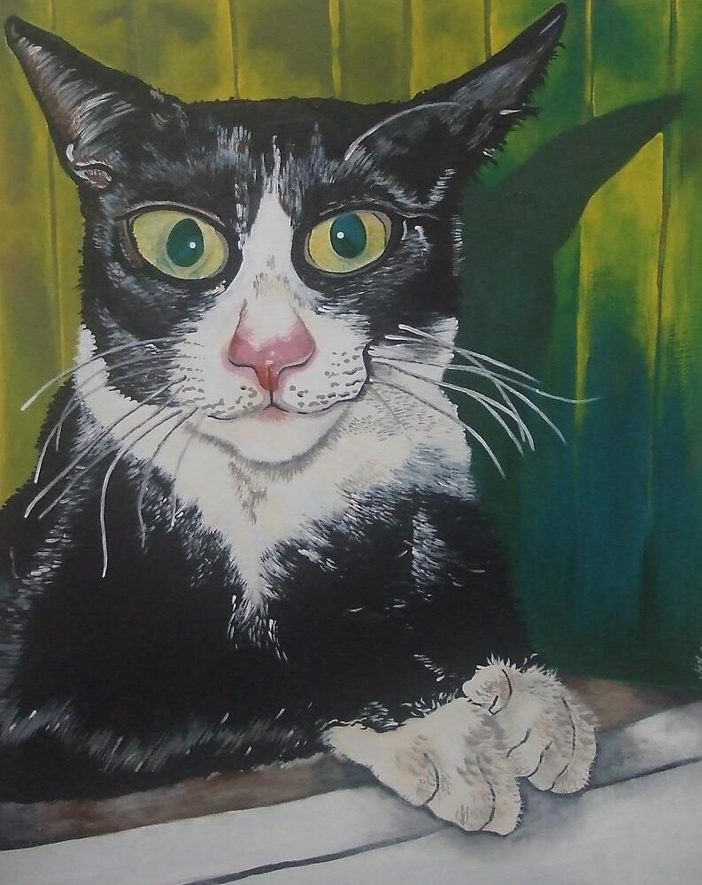 Sherlock the Cat by Megan Lane