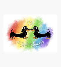 Love is Love, Pride LBGT Photographic Print