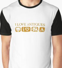 For the love of antiques Graphic T-Shirt