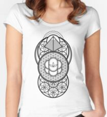 Ultra Sacred Geometry Women's Fitted Scoop T-Shirt