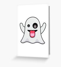SNAP GHOST Greeting Card