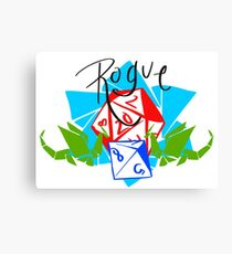 Rogue Class Logo Canvas Print