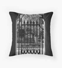 College of Charleston Gate View Throw Pillow
