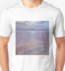A New Perspective - sunset seascape painting Unisex T-Shirt