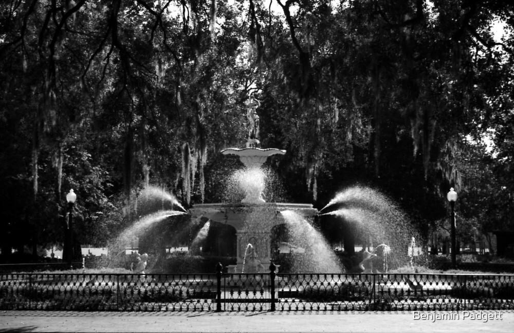 Savannah Fountain #2, Georgia by Benjamin Padgett