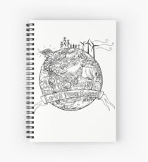 Love Your Earth Spiral Notebook