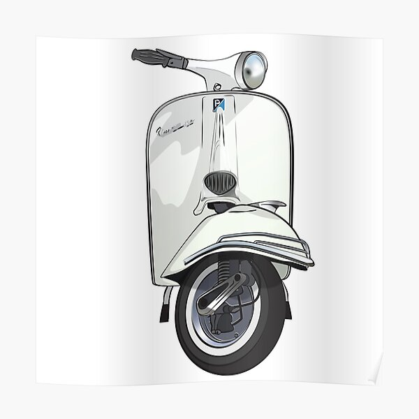 mod Wasp scooterist Scootering Vespa retro Scooter Mens Polo