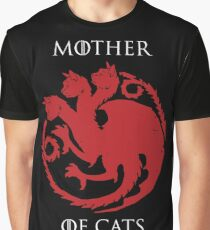 mother of cats Graphic T-Shirt