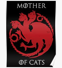 mother of cats Poster