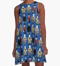 Slashers A-Line Dress