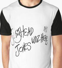 Jughead Jones woz here Graphic T-Shirt