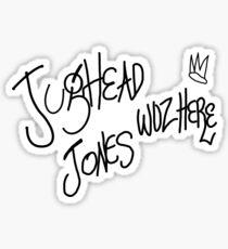 Jughead Jones woz here Sticker