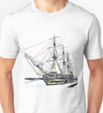 The sailboat Unisex T-Shirt