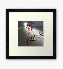 Sketchy Beats Vinyl Player Framed Print