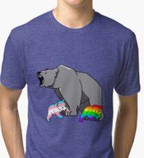 Mama / Papa Bär LGBT Pride Vintage T-Shirt