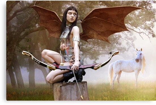Huntress by Rob Emery