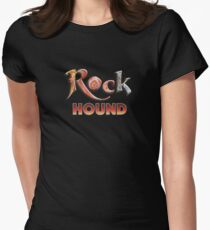 Rock Hound Agate Collector T-Shirt Women's Fitted T-Shirt