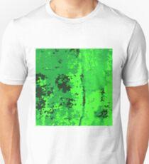 green background Unisex T-Shirt