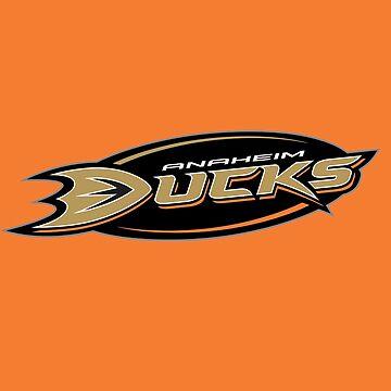 Anaheim Ducks Alternate Logo by Canis1993